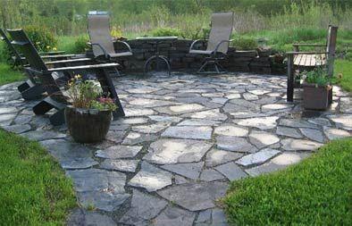slate garden landscaping 25+ best ideas about Broken concrete on Pinterest