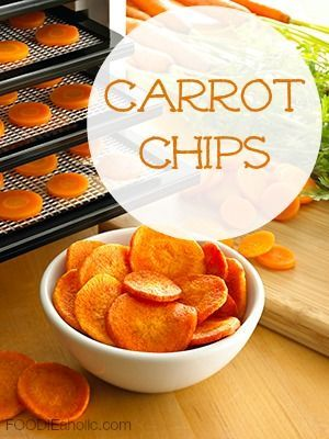 Looking for snacks to eat throughout the day to boost your energy naturally? Try these delicious carrot chips with your Excalibur Dehydrator