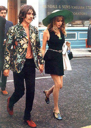 George Harrison & Pattie Boyd. What