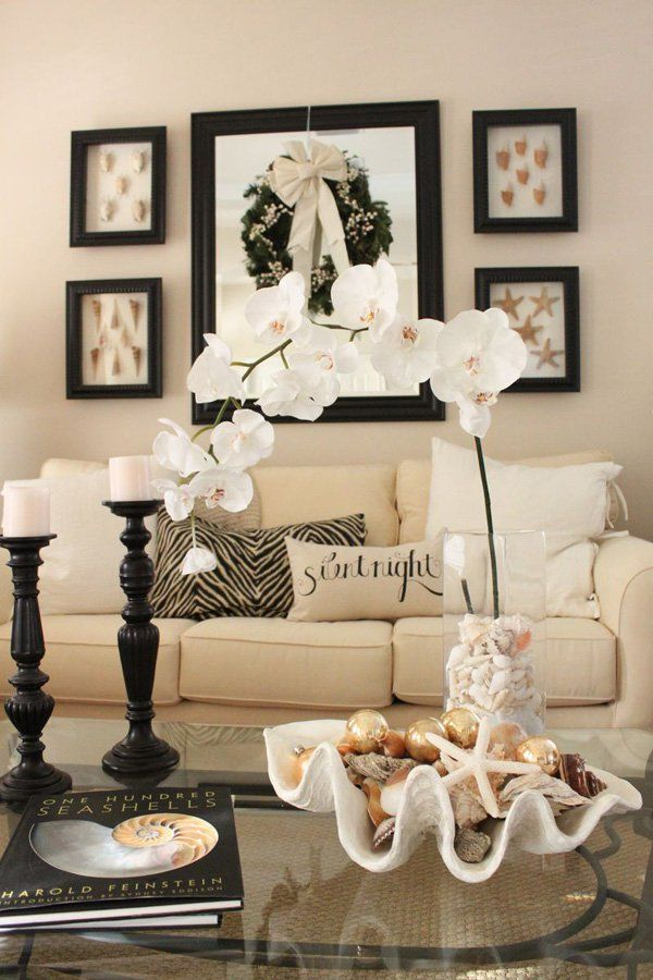You can use whatever you want, even sea shells: whatever it takes to make this room YOUR room.