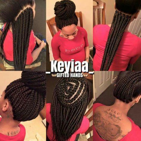 Image result for crochet box braids vs regular box braids