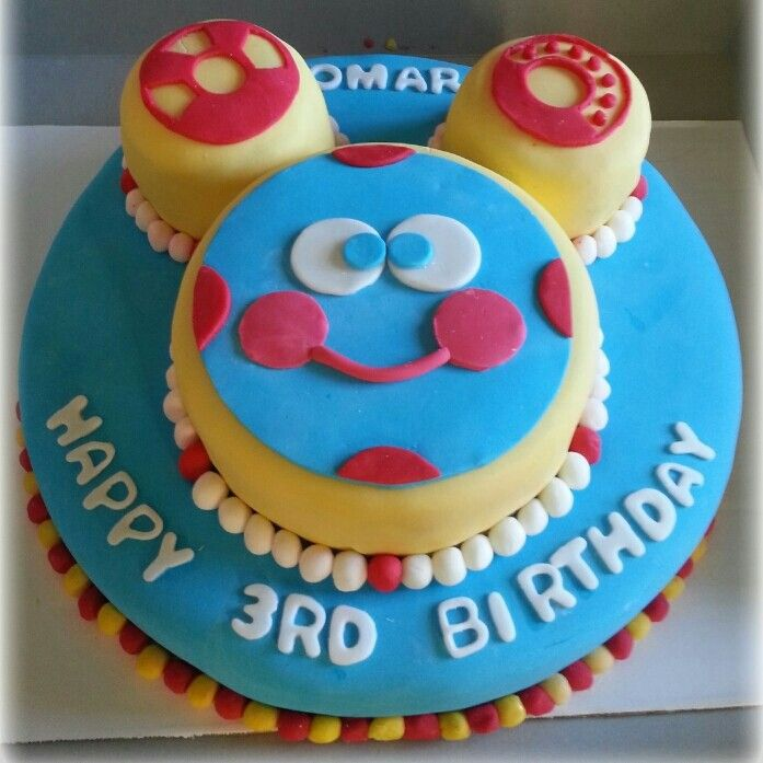 Toodles Birthday Cake Simply Amazing Bakery Pinterest