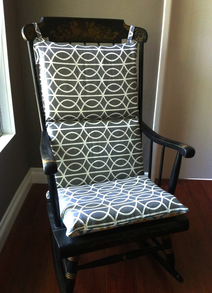 Rocking Chair Cover Looks Double Sided And Easier