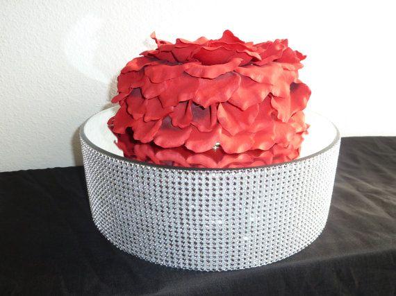 1000+ Ideas About Rhinestone Wedding Cakes On Pinterest