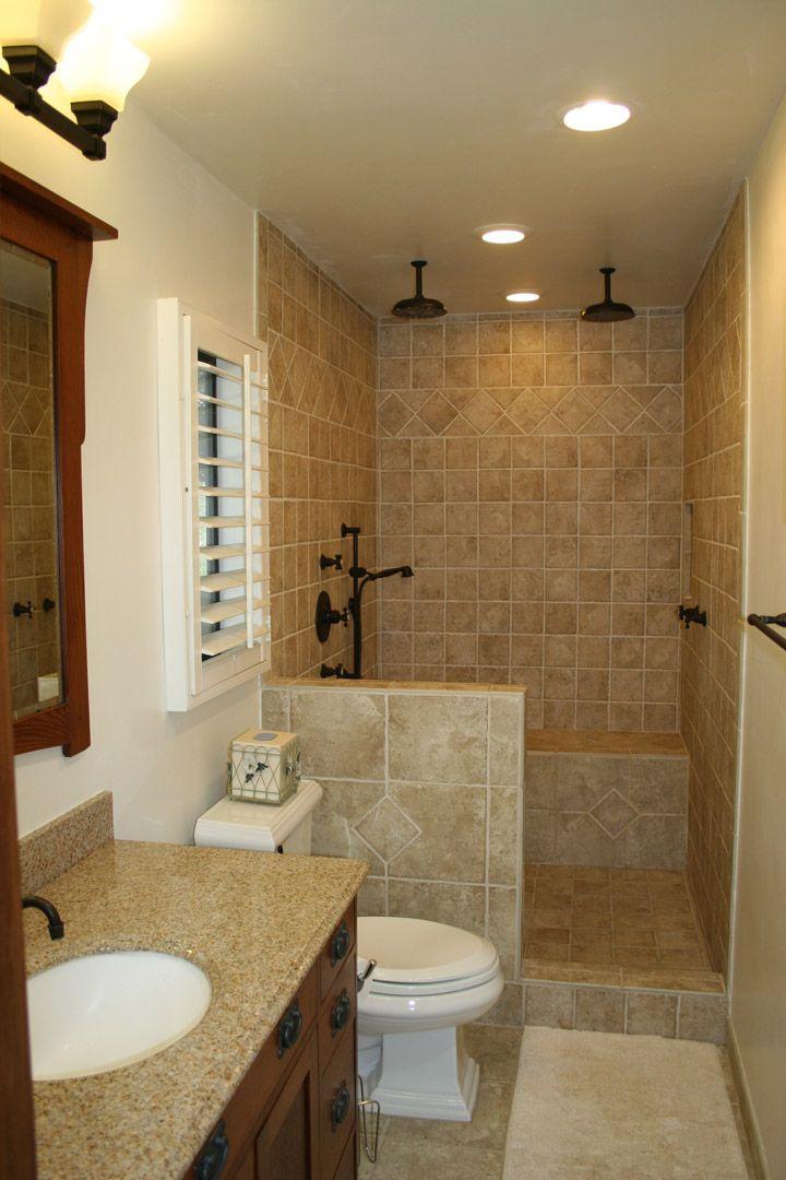 25+ bästa Open showers idéerna på Pinterest | Lantliga ... on Small Space Small Bathroom Ideas On A Budget id=75905