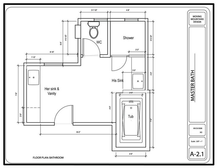 Hollywood Hills Master Bathroom Design Project- The Design