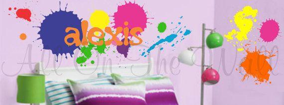 Best 20 Splatter Paint Bedroom Ideas On Pinterest