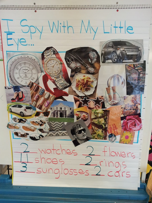 Eye Spy Class Activitiy – use with Five senses unit ~ Chalk Talk: A Kindergarten Blog