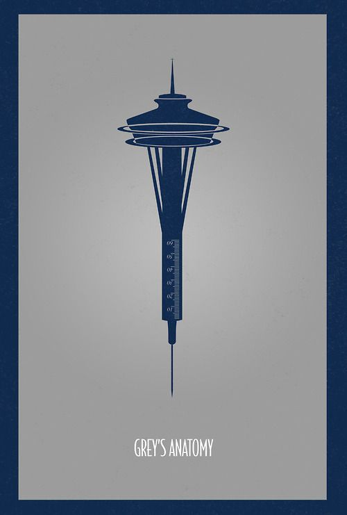 Grey's Anatomy Minimalist Poster Serie Tv Show | Greys ...