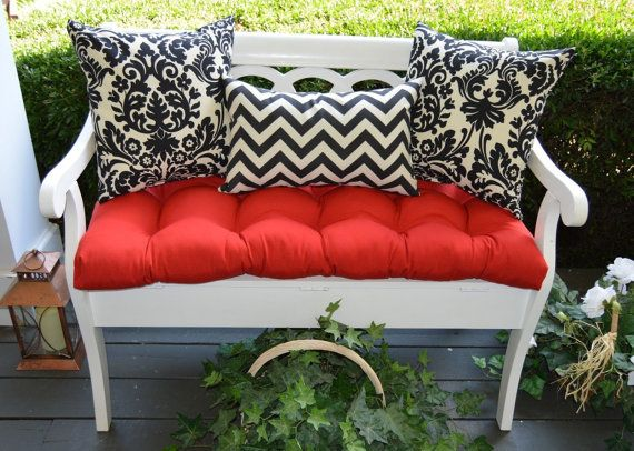 1000+ Images About Tufted Bench Cushions On Pinterest