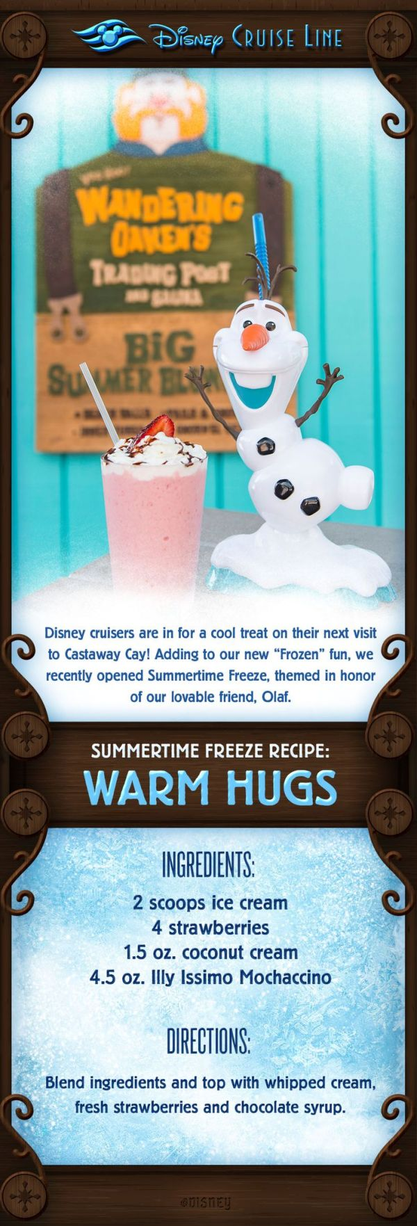 Disney cruisers are in for a cool treat on their next ...