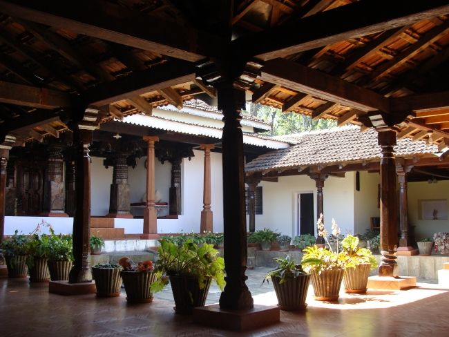 Kerala Courtyard With Seating Google Search Courtyard