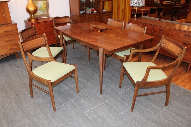 Image Of American Of Martinsville Dining Room Table
