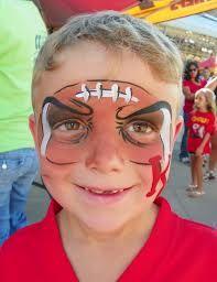 25 Best Ideas About Football Face Paint On Pinterest