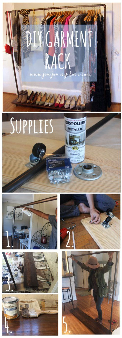 25 Best Ideas About Pipe Closet On Pinterest Industrial