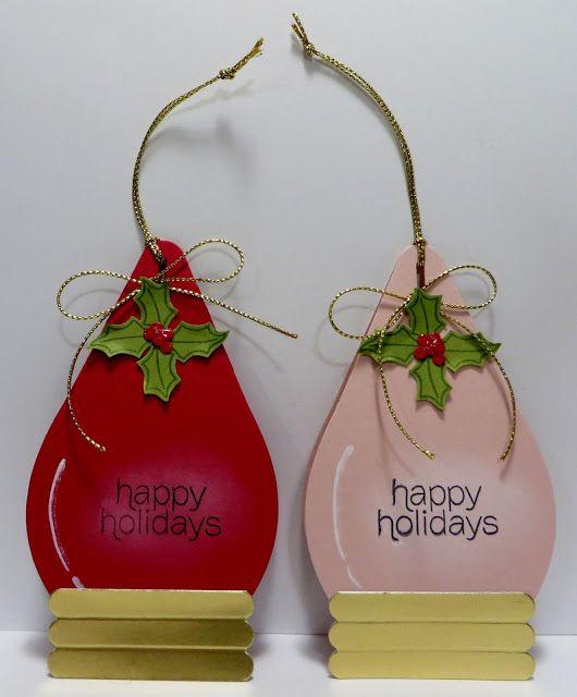 Lynns Locker Stampin Up Curvy Keepsake Box Christmas