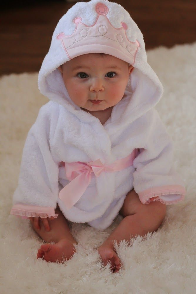 Cella Jane Blog   Baby Aspen Giveaway   Baby Princess Bathrobe