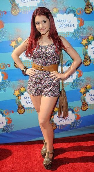 Ariana Grande Flower Jumpsuit Red Carpet Celebrity Looks Pinterest Ariana Grande Red