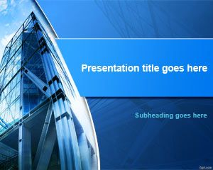 free corporate headquarters powerpoint template is an awesome business or executive powerpoint