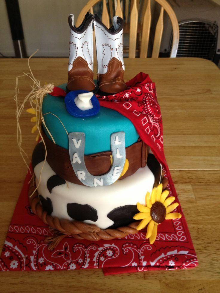 Western Themed Baby Shower Cake My Style Pinterest