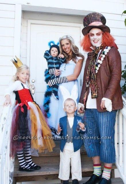 Alice Wonderland Homemade Costume Ideas