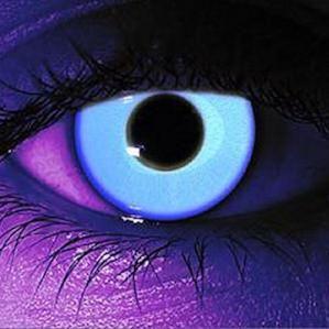 Rave Blue Contact Lens at GothikaContactLenses.com ...