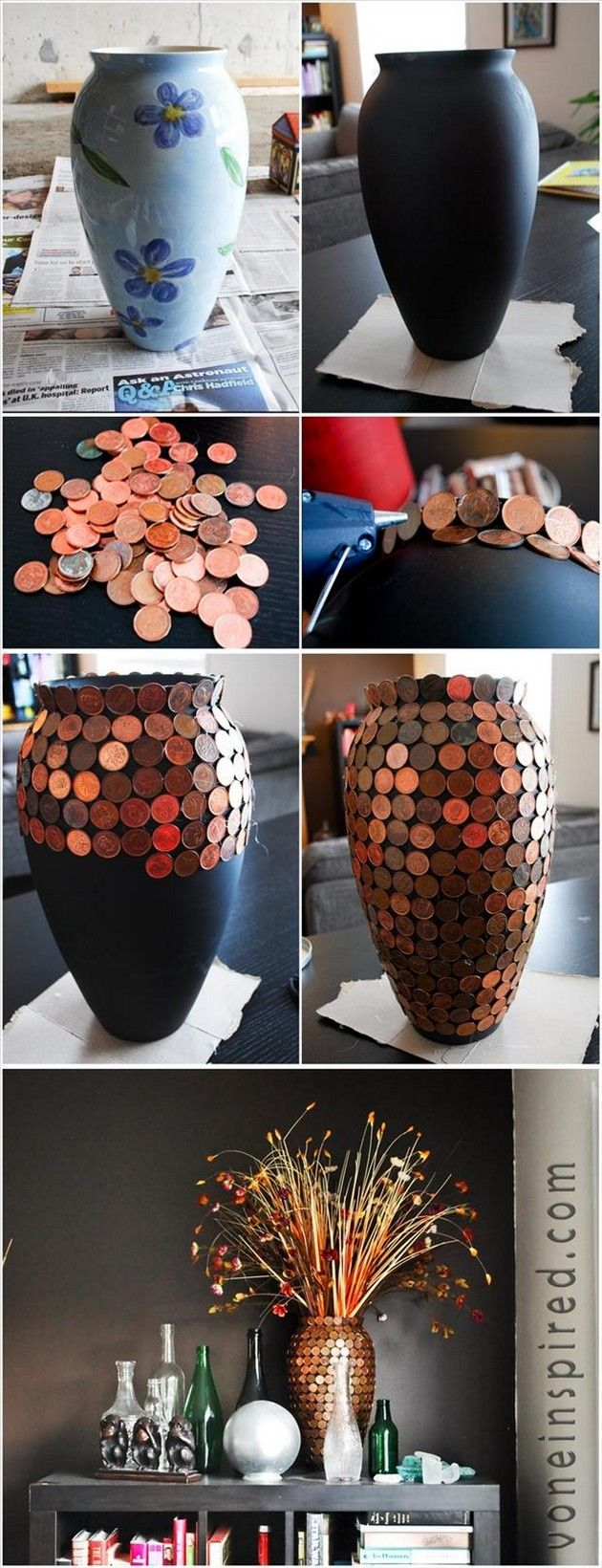 Cool Craft & DIY Ideas – Penny Vase