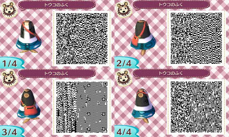 Animal Crossing: New Leaf Community – QR Codes: Kimono + All Female Pokemon Outfits