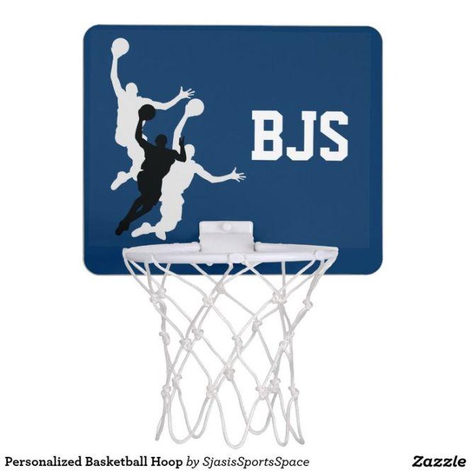 Personalized Basketball Hoop Mini Stuff Sold On Zazzle Pinterest