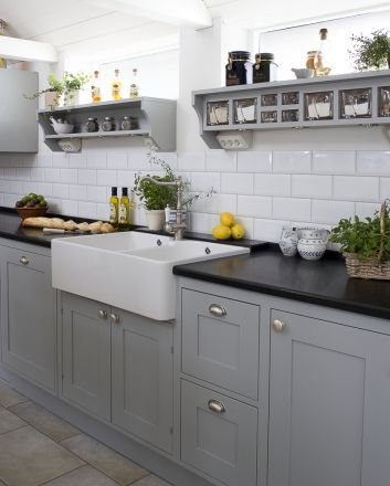 Best 25 Grey Kitchen Cupboards Ideas Only On Pinterest