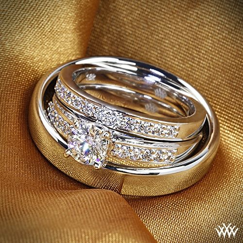 Wedding Ring Sets For Him And Her Awesome Matching His