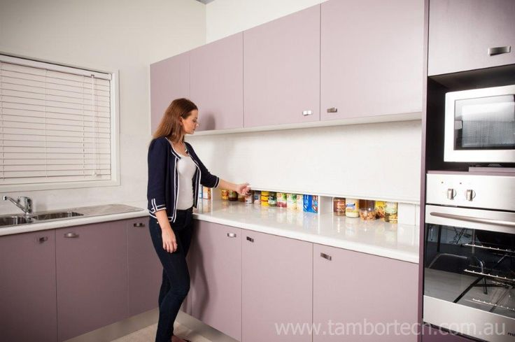 Tambortech Door Secret Splashback Pantry Cupboard