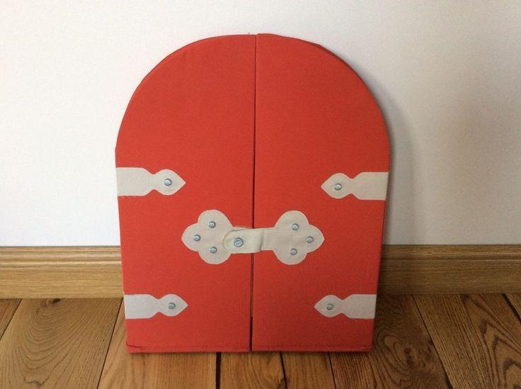 Ikea Boys Kids Childs Medieval Knight Storage Castle Door