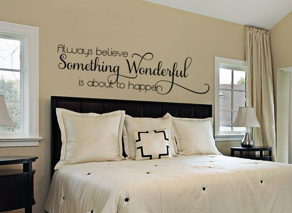 Bedroom Wall Decal Master Decals For The Home Inspirational Quote Vinyl