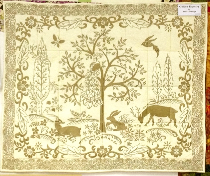 Golden Tapestry Made By Jayne At Country Stitches Super