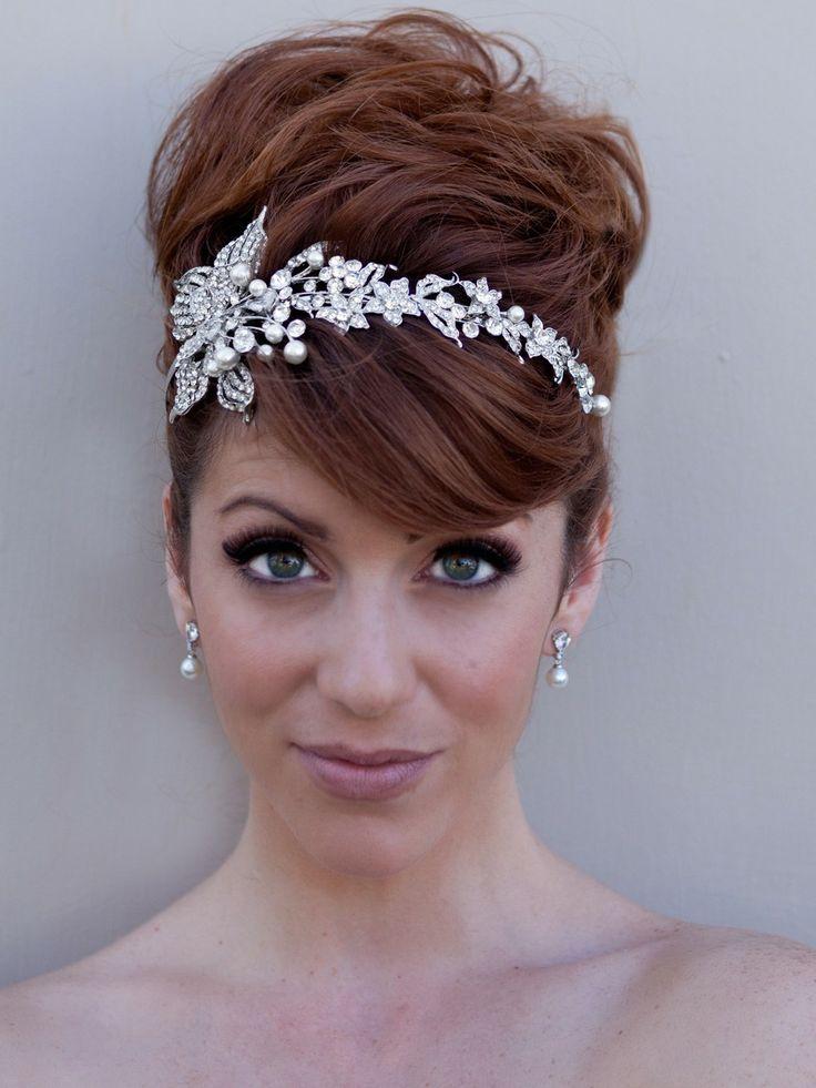 Real Flower Headbands Wedding Hair Nature Inspired Hair