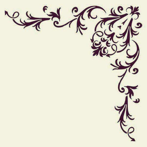 25 Best Ideas About Stencil Patterns On Pinterest Stencil Designs Stencil Designs For Walls