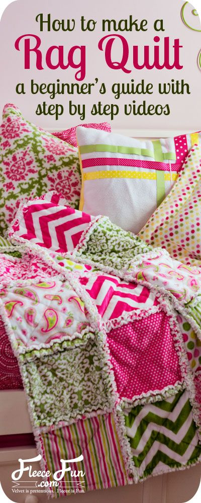 How to Make a Rag Quilt – T