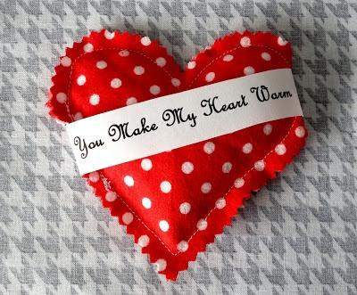 Heart Hand Warmers You Make My Heart Warm Valentine