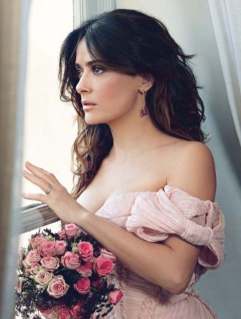 Hairstyles Salma And Hayek Colors