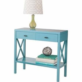 Target Threshold 2 drawer console table, regular price $129.99, sale $103.99  Living room