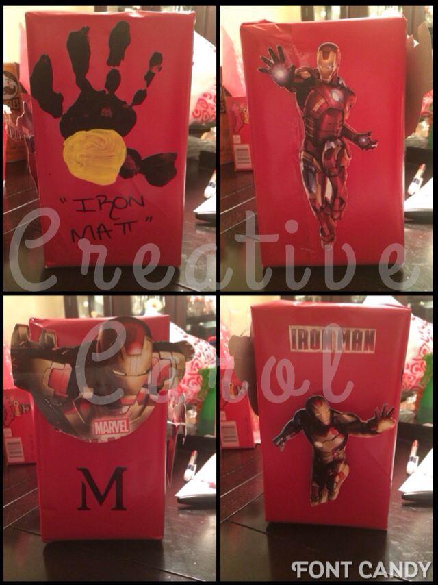 My Sona Iron Man Valentine Box Party Stuff