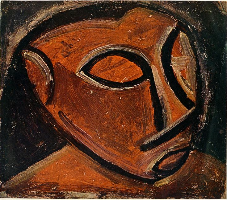 17 Best Images About PABLO PICASSO African Period On