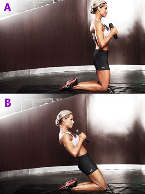 This def killed my legs but they feel stronger !!!!! used a 7 pound weight ha ! Genie Press – Rockin' Leg Routine Get sleek,