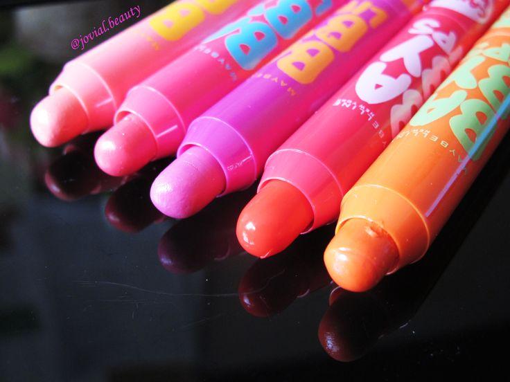 Foto Lip Balm Candy Wow 2015 (L - R: Peach, Rapsberry, Mixed-Berry, Cherry & Orange)