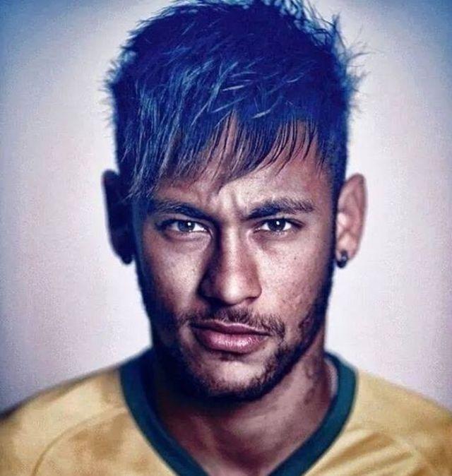 neymar  short hairstyles  world cup 2014 football players