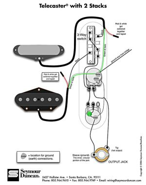 Telecaster WiringDiagram | TECH INFO | Pinterest | Fender
