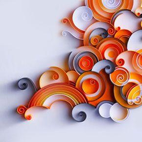 Best 20 Rolled Paper Art Ideas On Pinterest