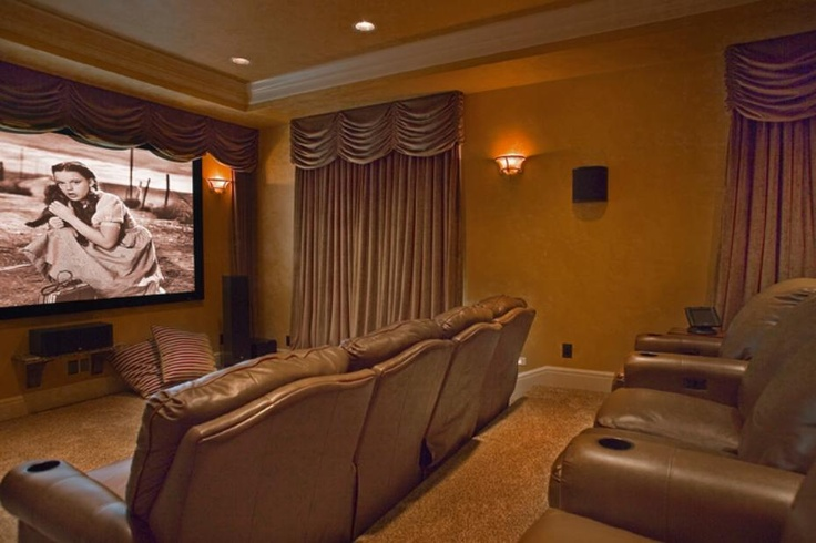 Stunning Home Theater In A Tuscan Style Home From 1 Of 30 Projects By Gelotte Hommas Media