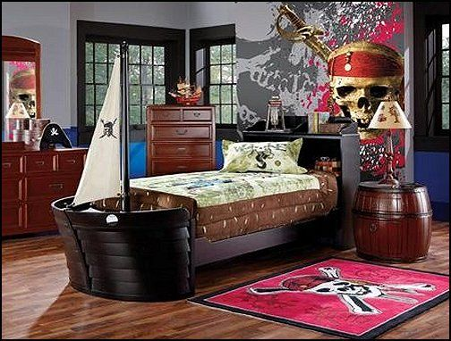 Decorating Theme Bedrooms Maries Manor Pirate Themed Furniture Nautical